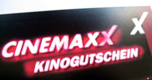 cinemaxx gutschein mit getr nk f r 7 50 euro blino. Black Bedroom Furniture Sets. Home Design Ideas